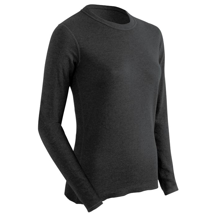 Cover Image For THERMA CREW TOP BLACK