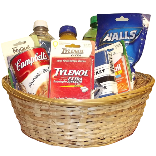 Image For GET WELL BASKET