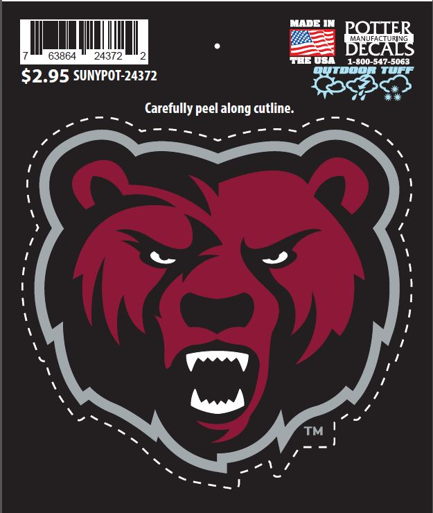 Image For BEARHEAD DECAL