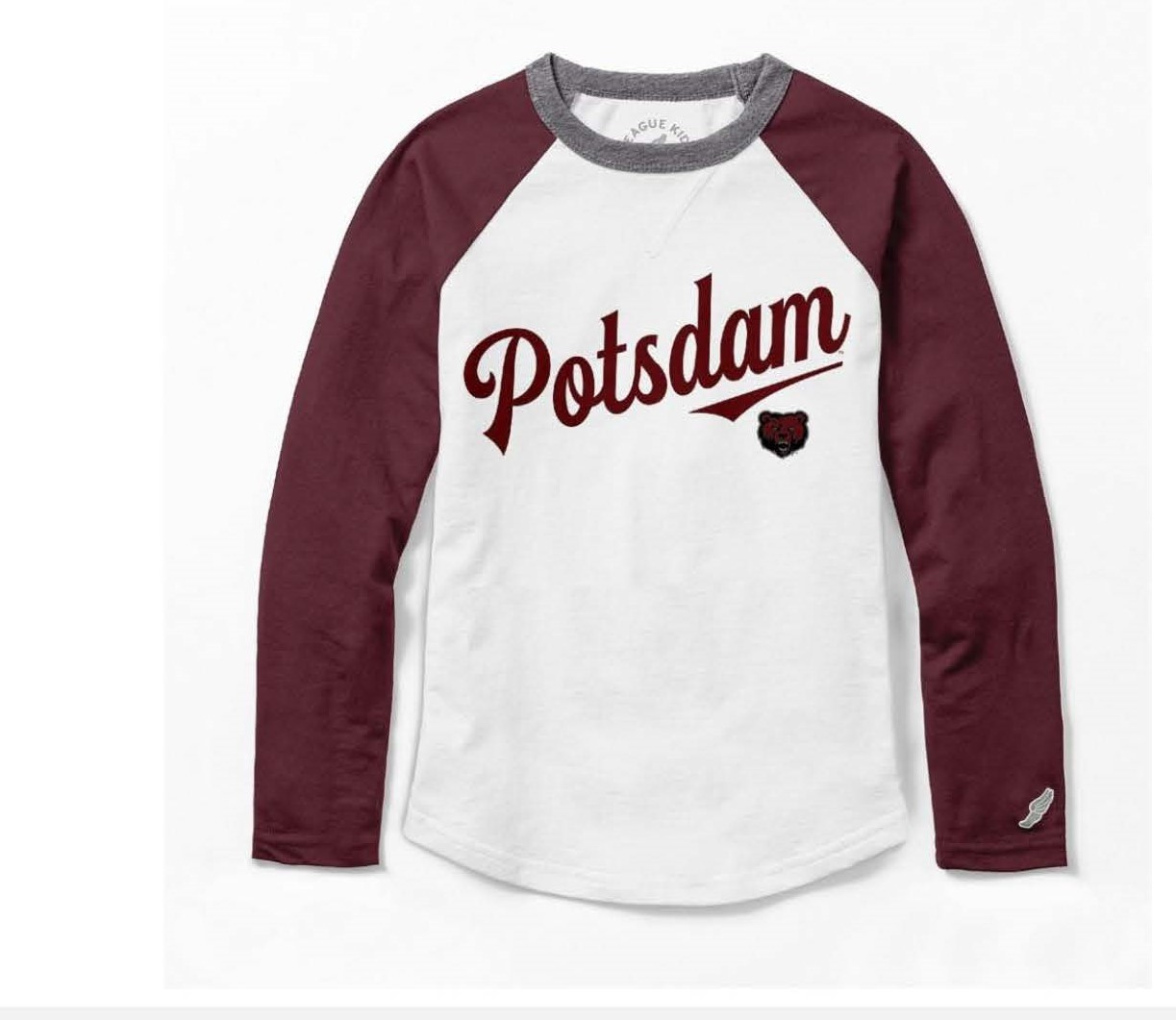 Image For L2. YOUTH BASEBALL TEE