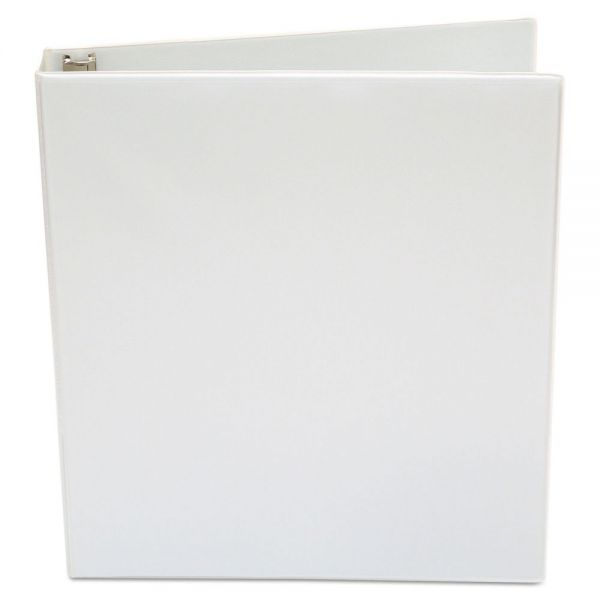 "Cover Image For BINDER 1"" WHITE VIEW"
