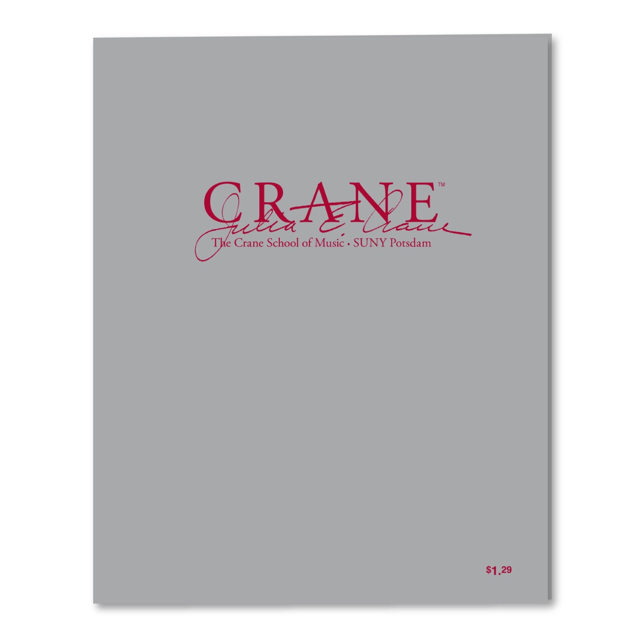 Cover Image For RS. CRANE/ POTSDAM SILVER