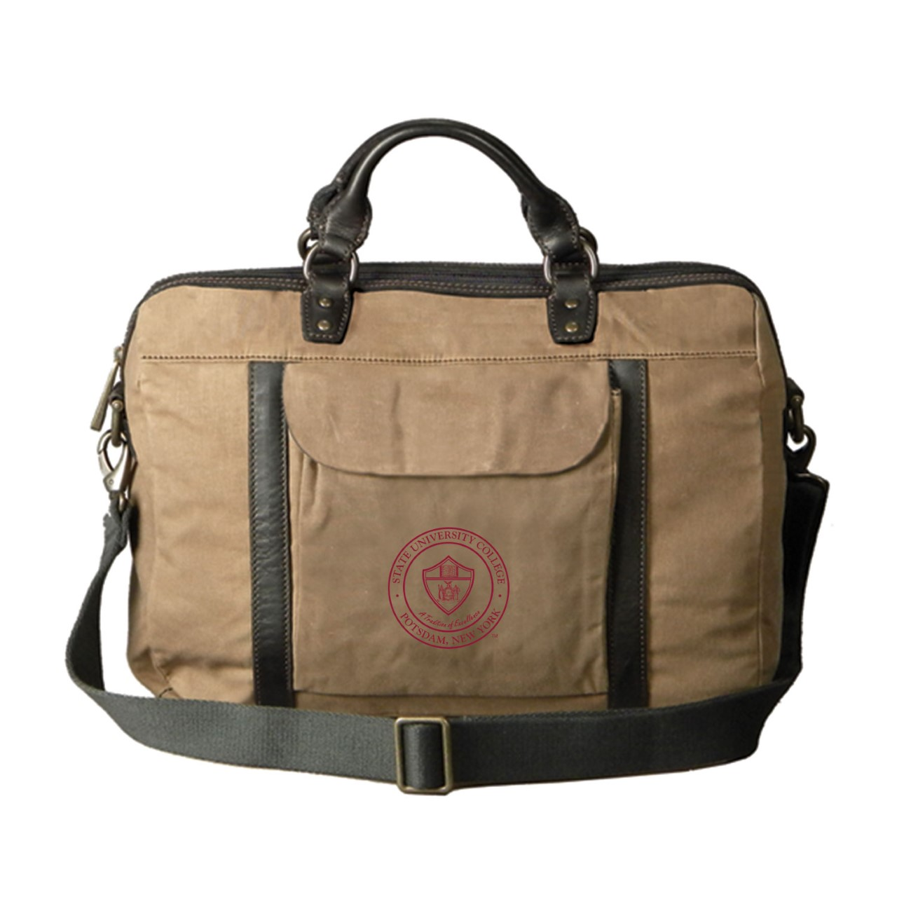 Image For CANVAS BAG BRIEFCASE