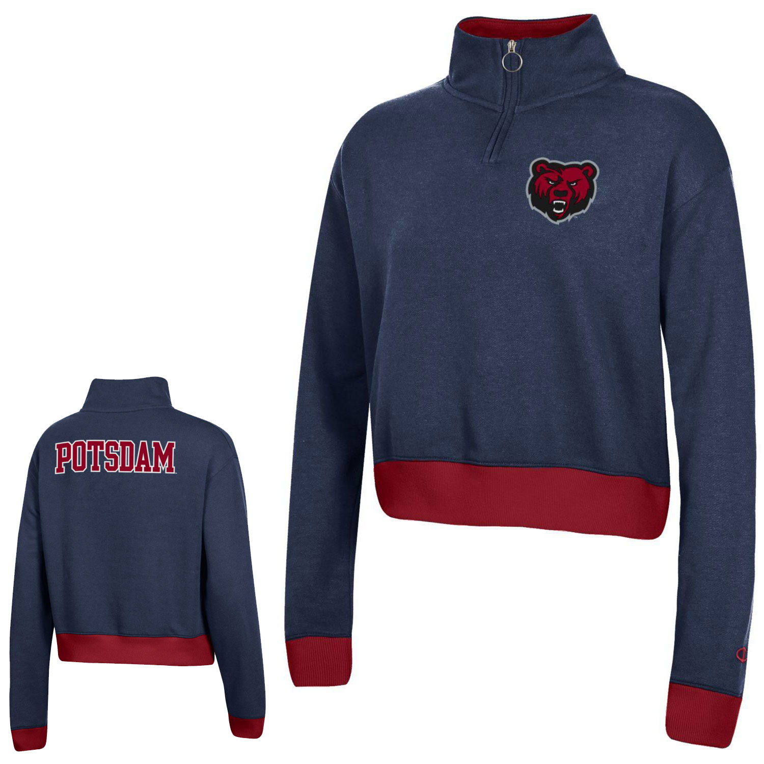 Image For CHAMPION WOMENS QUARTER ZIP