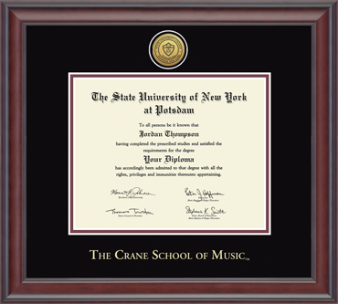 Image For CRANE SCHOOL OF MUSIC Gold Engraved Studio 230484-PCM (27)